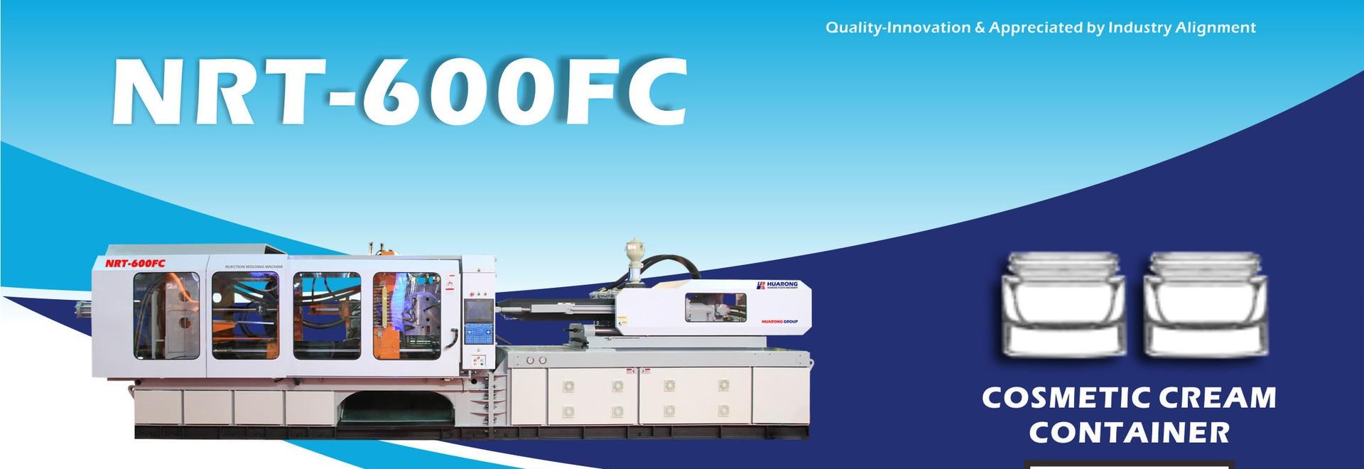 MACHINE DE MOULAGE PAR INJECTION HUARONG Servo-système HR-600ton emballage cosmétique