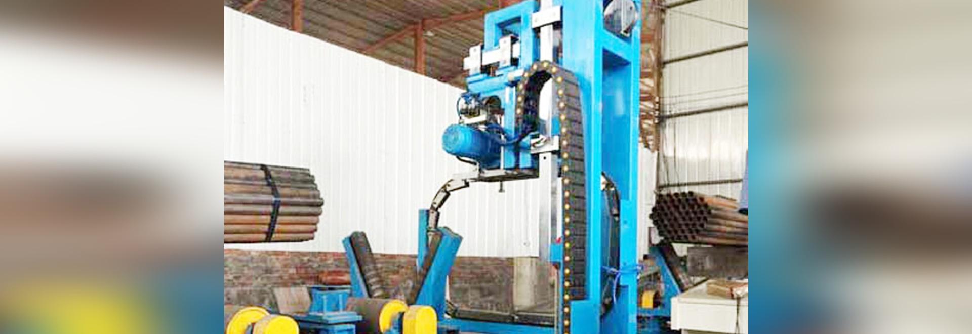 machine à relier automatique de paquet de tuyau