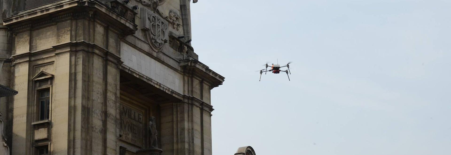 drone camera homemade