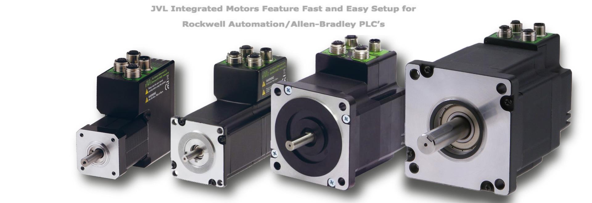 Les moteurs intégrés JVL offrent une configuration simple et rapide pour les automates Rockwell Automation/Allen-Bradley