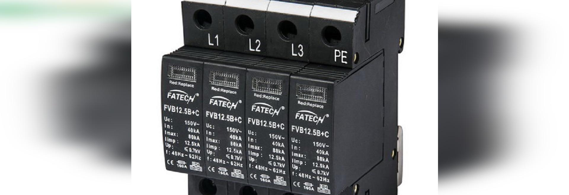 nouveau dispositif de protection de la montée subite 12.5kA