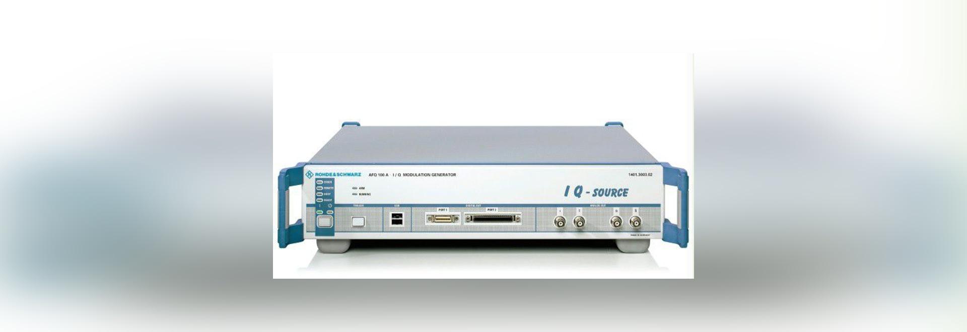 NOUVEAU : générateur de signaux par Rohde Schwarz