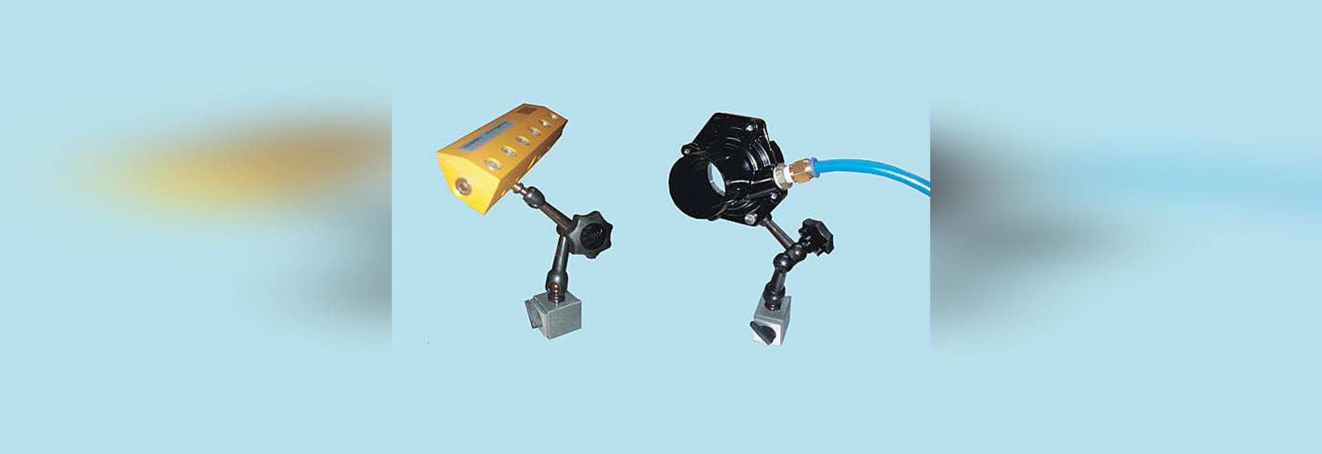 Nouveaux systèmes de support de Nex Flo pour des souffleurs et des amplificateurs d'air.
