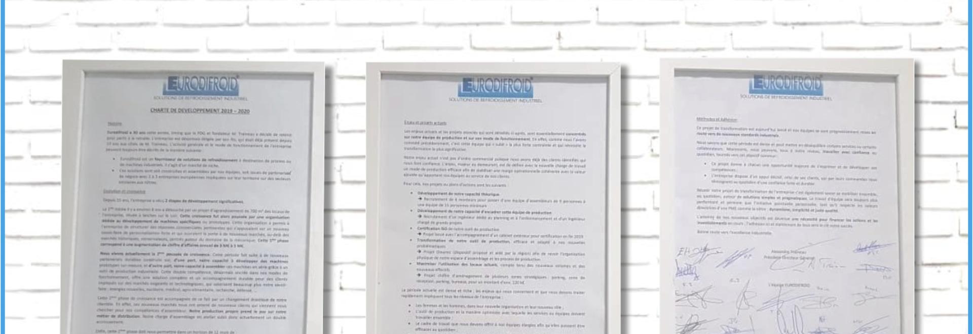 Nouvelle charte de développement Eurodifroid