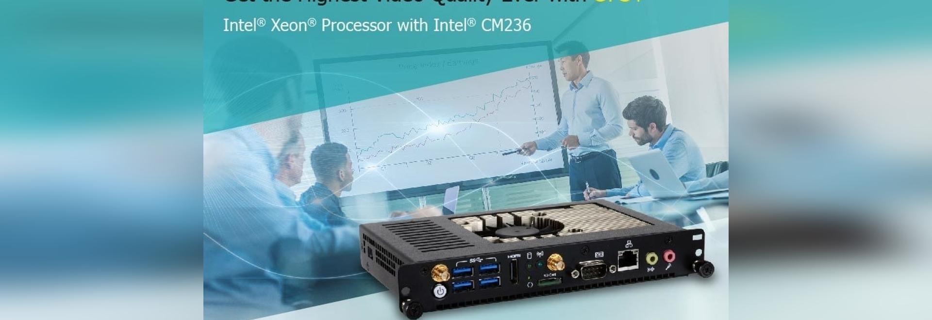 L'OPS100-SH de la DFI apporte au marché de l'affichage numérique une flexibilité et une performance à l'épreuve du temps