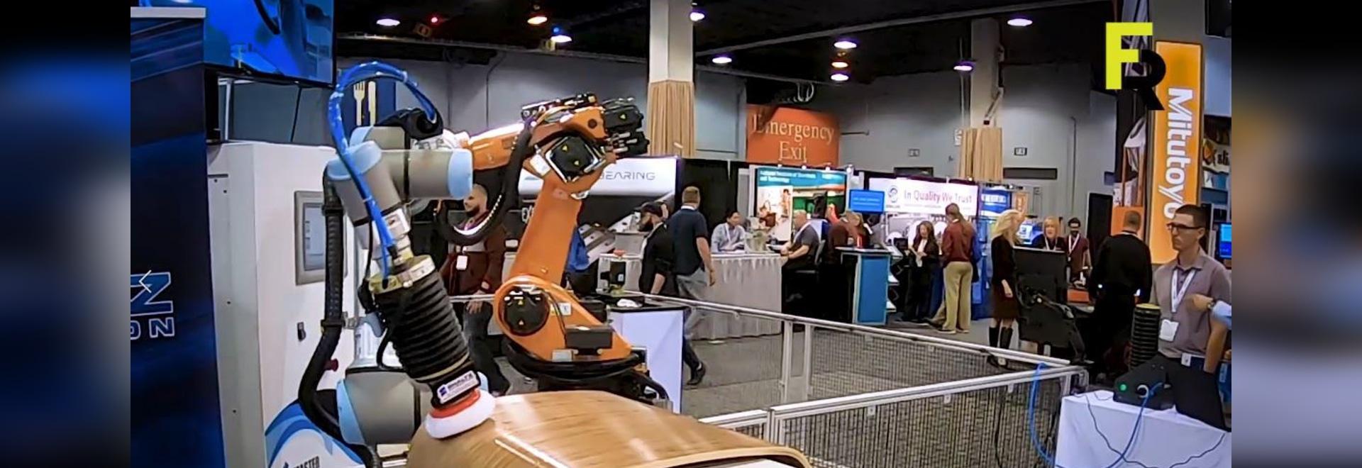 Outil de ponçage FerRobotics pour robots universels