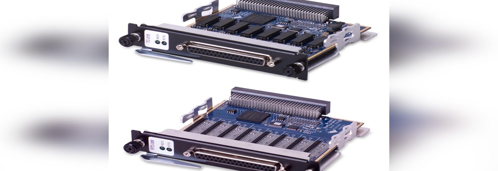 Les panneaux de simulateur soutiennent RTDs et thermocouples