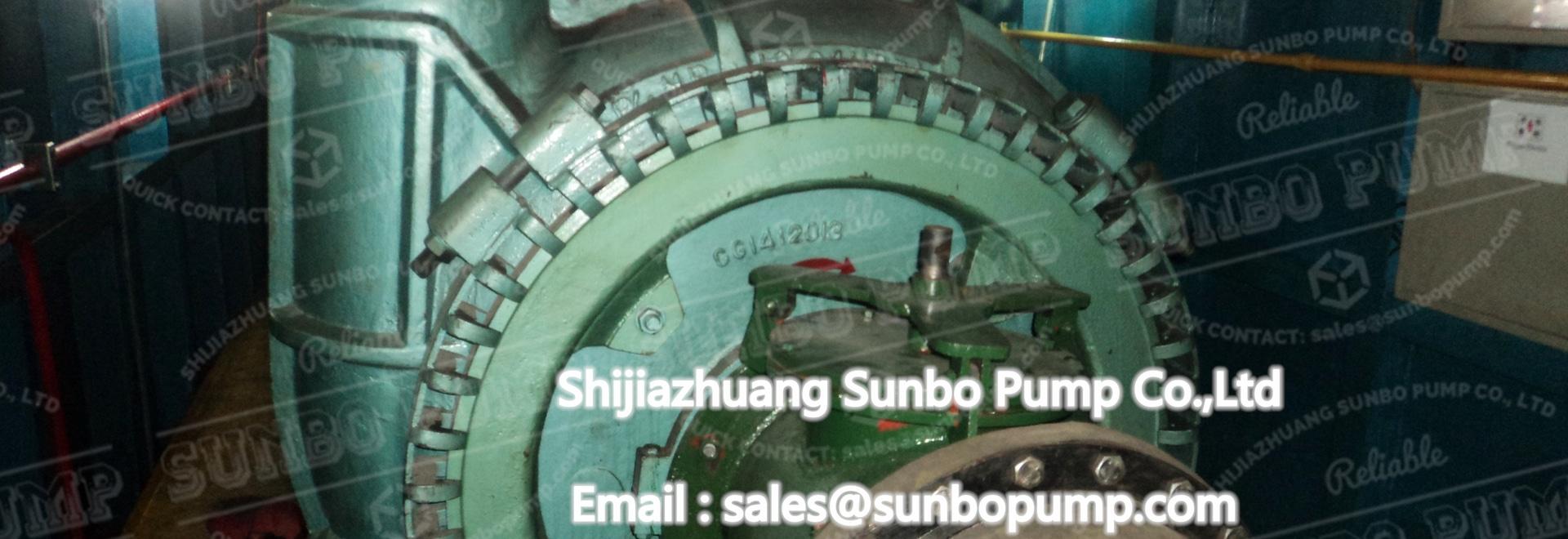 Pompe à sable de la série SG