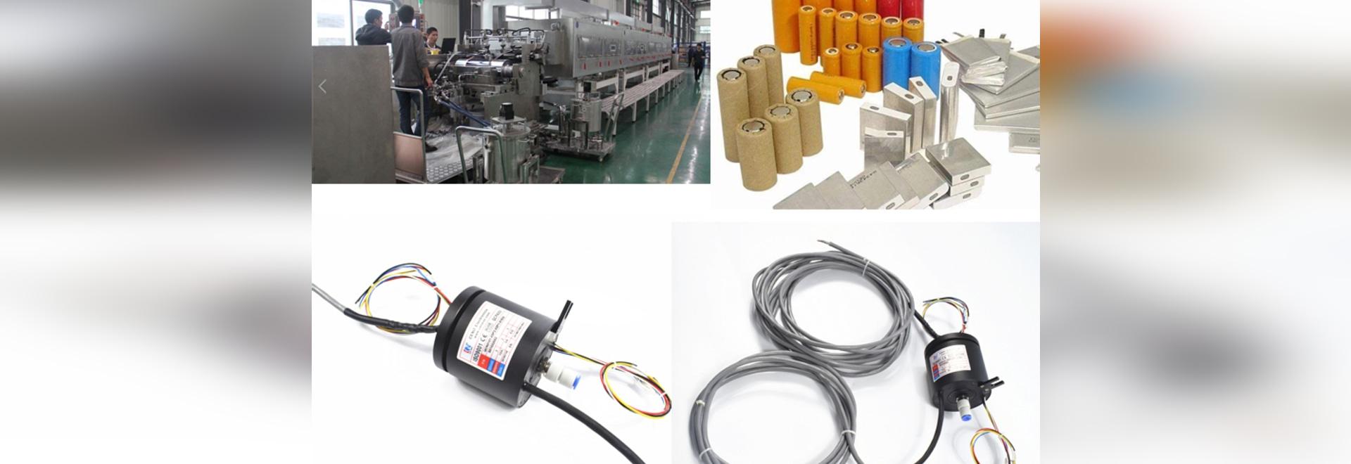Power+ Joint Rotatif Pneumatique Pour Equipements de Batterie au Lithium