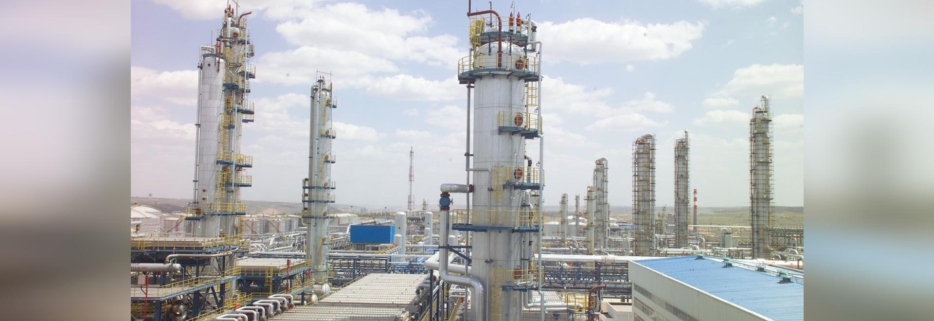 Projet de caprolactame dans le domaine du processus chimique