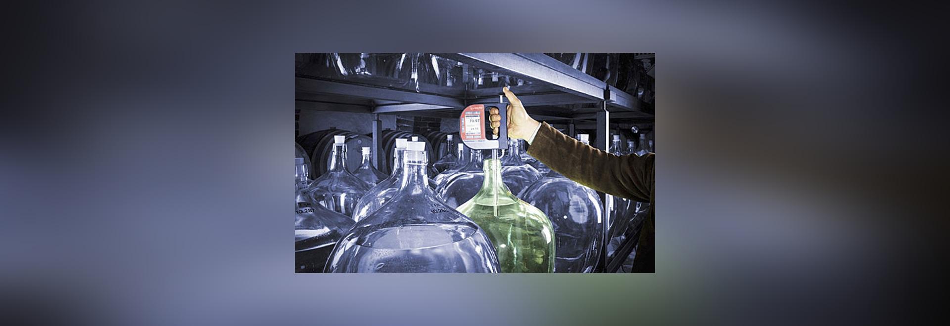 Révolution de La de Vive ! Mesure d'alcool dans les microdistilleries