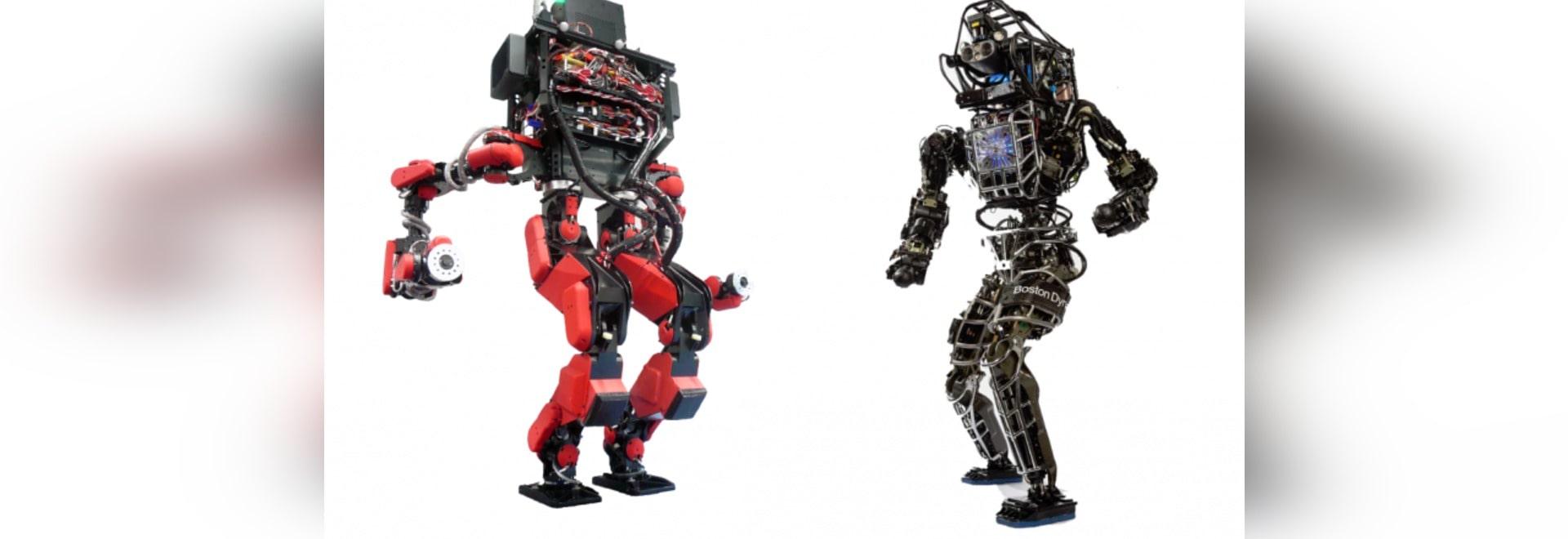 LES ROBOTS DE GOOGLE-OWNED DOMINENT LES ÉPREUVES 2014 DE DÉFI DE ROBOTIQUE DE DARPA