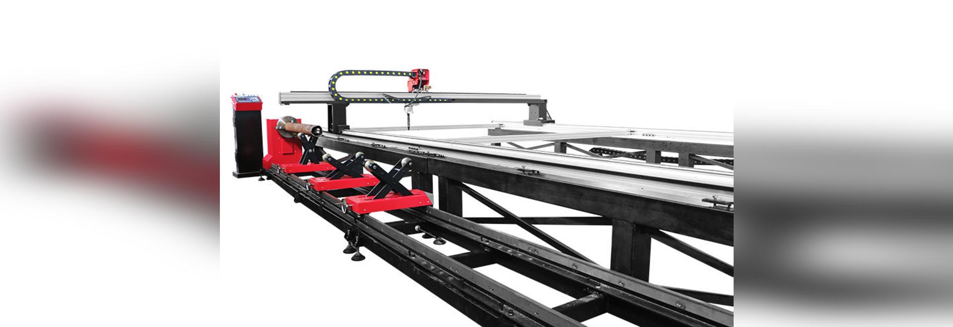 SteelTailor Dragon III-Tt machine de découpe à portique et machine de découpe de tubes cnc