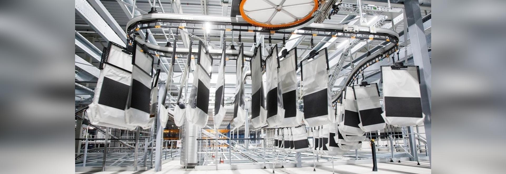 Système de tri AIRPICK de Vanderlande