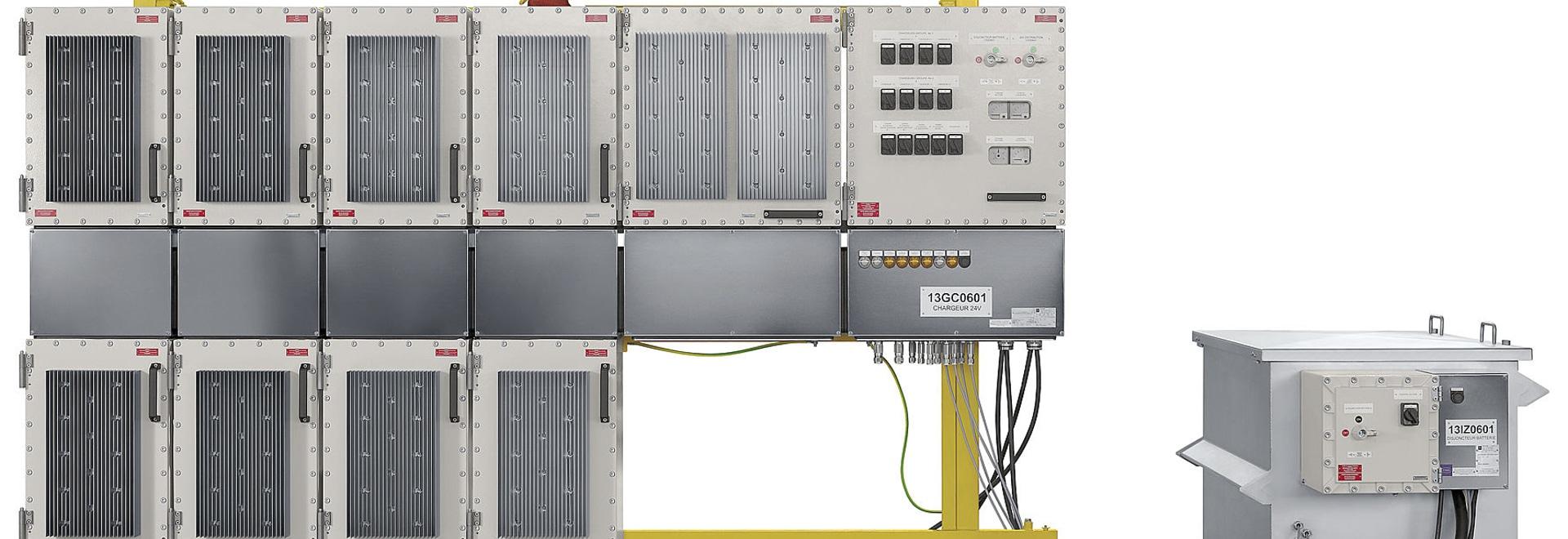 Systèmes adaptés aux besoins du client d'UPS pour des secteurs dangereux d'installation en mer