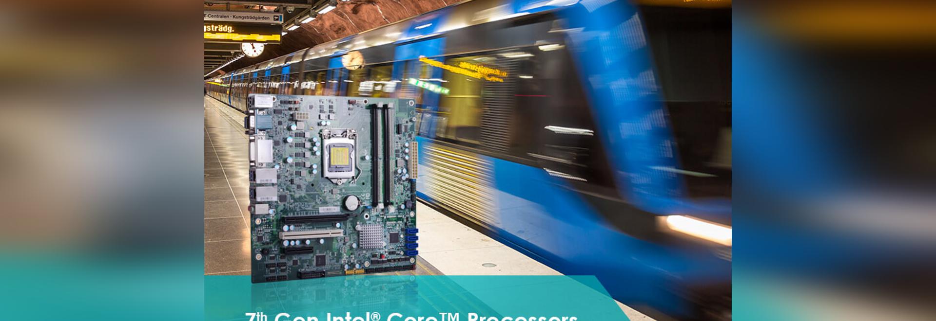 Voyons comment les cartes à base de processeur Intel® de 7e génération Core™ de la DFI mettent à niveau votre système embarqué