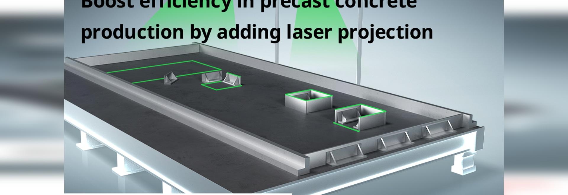 Webinaire : Augmenter l'efficacité de la production de béton préfabriqué en ajoutant la projection laser