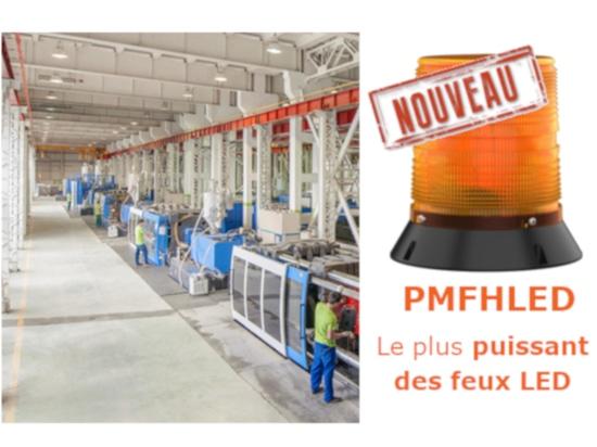 Le plus puissant feu LED : PMFHLED