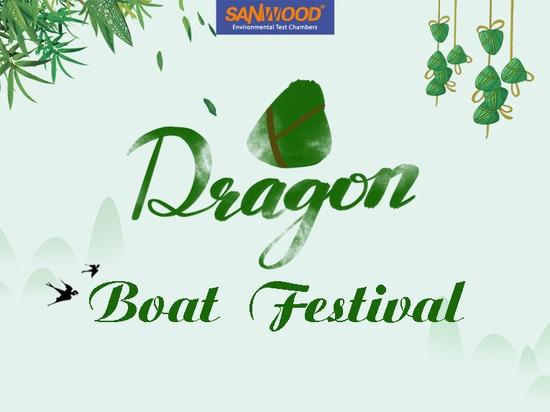 Chambre d'essai de Sanwood Souhaite bonne santé au festival chinois des bateaux dragons