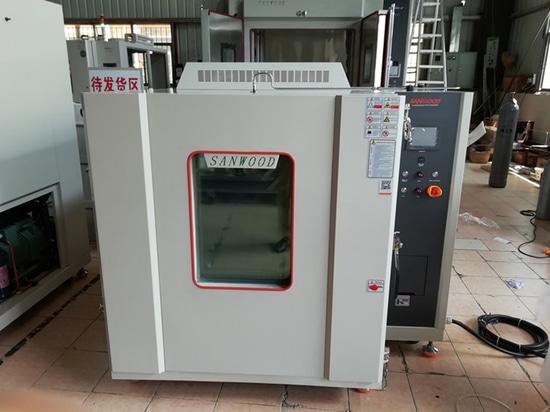 Structure et caractéristiques des chambres d'essais antidéflagrantes à haute et basse température