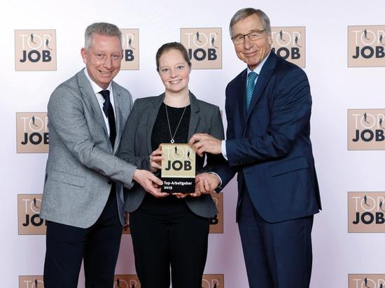 """KIPP reçoit le prix """"TOP JOB 2019"""