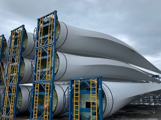 Composites recyclés provenant de pales d'éoliennes utilisées pour le co-processing du ciment