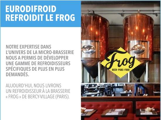 Eurodifroid dans la micro-brasserie