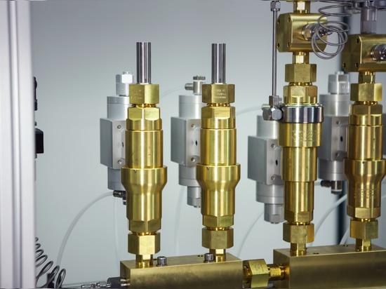 Structure d'un système de mélange utilisant des vannes haute pression WEH® TV17