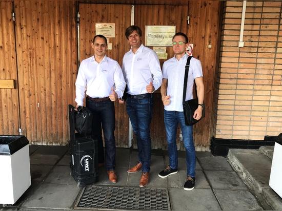 Stanislav Biryukov, Andrey Kireev et Markus Schalk en tournée à Moscou