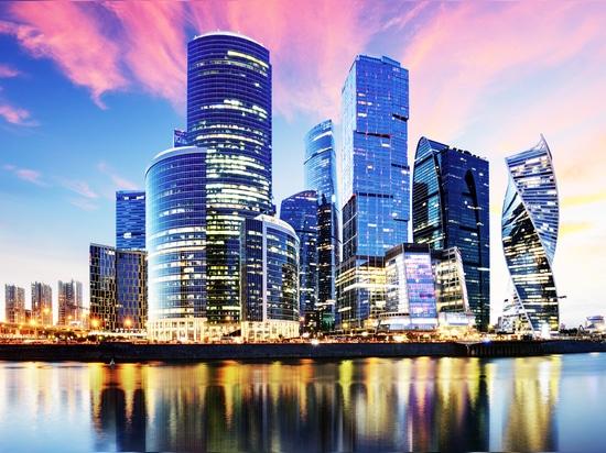 Ville de Moscou - le quartier des affaires