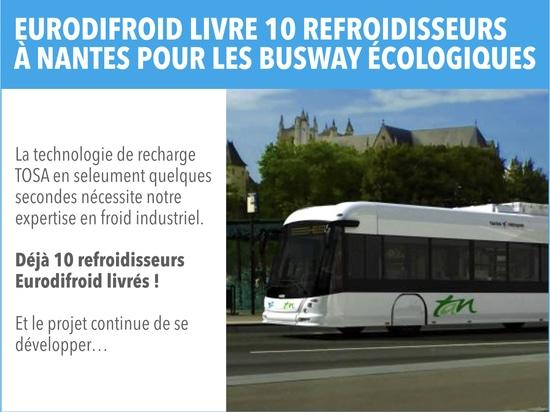 Des refroidisseurs pour le projet de bus écologiques à Nantes