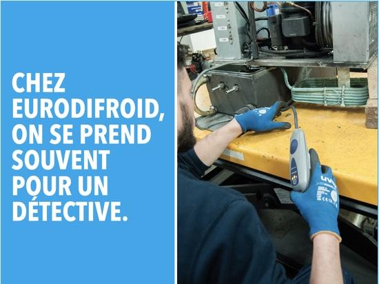 Eurodifroid répare, reprend et expertise vos installations frigorifiques