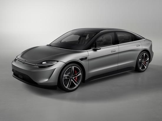 Sony présente un prototype de voiture électrique au CES de Las Vegas