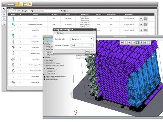 15.01.2020 L'outil Batchnesting de 4D_Additive automatise le traitement par lots pour l'impression 3D