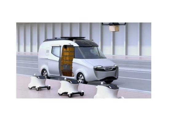 Options pour le déploiement de systèmes robotiques de livraison du dernier kilomètre