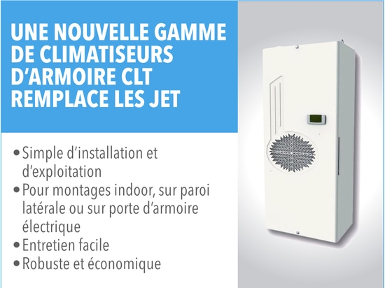 Nouvelle gamme de climatiseurs d'armoire Eurodifroid