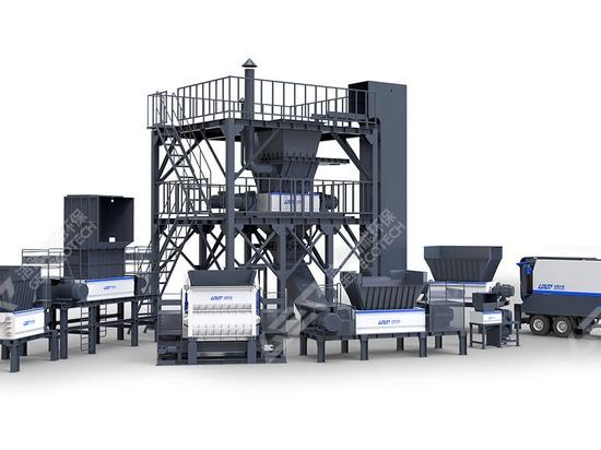 GEP ECOTECH Ligne de production de biomasse pour une utilisation globale et efficace de la paille