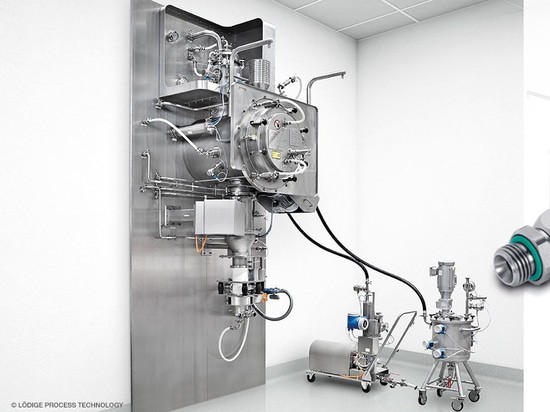 Le mélangeur lui-même est installé dans une salle blanche