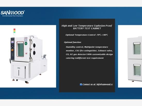 Sanwood-Battery, fournisseur de solutions de tests