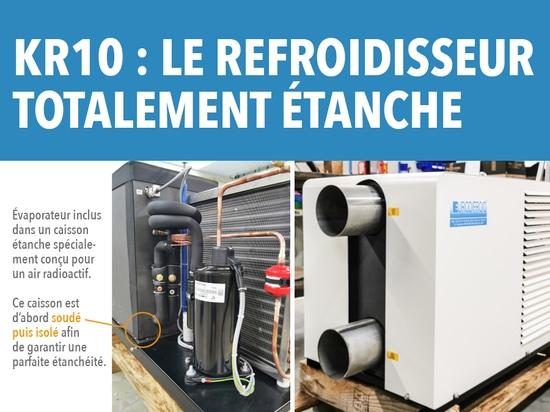 Eurodifroid présente son refroidisseur 100% étanche !