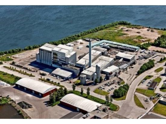 Une chaudière transforme les déchets en vapeur industrielle, en électricité