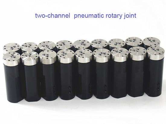 Joint rotatif pneumatique à deux canaux