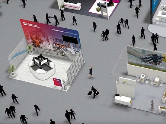 """Grâce à une plateforme virtuelle, les participants pourront suivre des programmes d'apprentissage, établir des contacts entre pairs et avec des experts, et """"se promener"""" dans la salle d'exposition ..."""