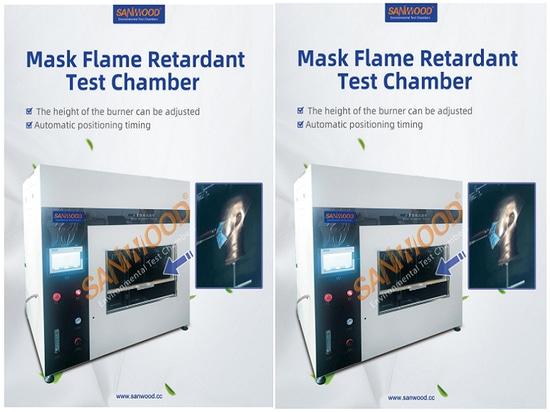Équipement pour tester la performance de combustion du masque