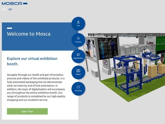 Stand de l'exposition virtuelle de la Moscas