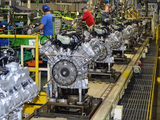 Toyota Motor Manufacturing Alabama (TMMAL) - Ligne de production de moteurs V6
