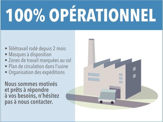 Eurodifroid 100% opérationnel