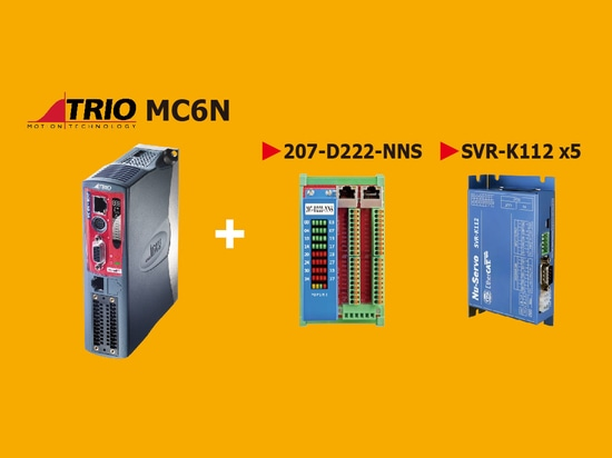 Trio MC6N Montion Controller & TPM EtherCAT NuSero Drive