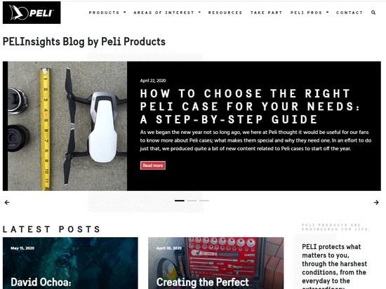 Peli présente son nouveau blog avec plus de contenu et d'inspiration que jamais !