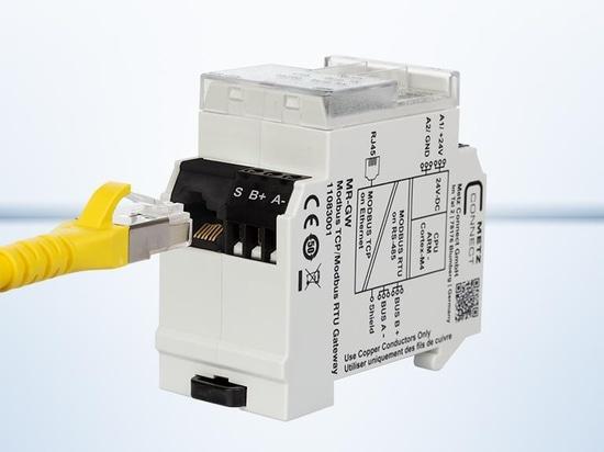 Prises RJ45 dans la conception des terminaux pour les appareils modulaires